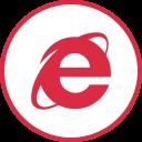 explorer, internet, logos, social icon