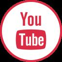 internet, logos, social, youtube icon