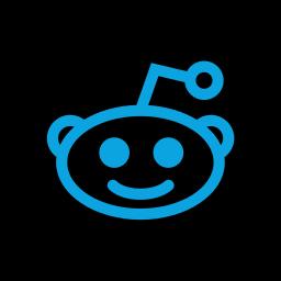 media, online, reddit, social icon