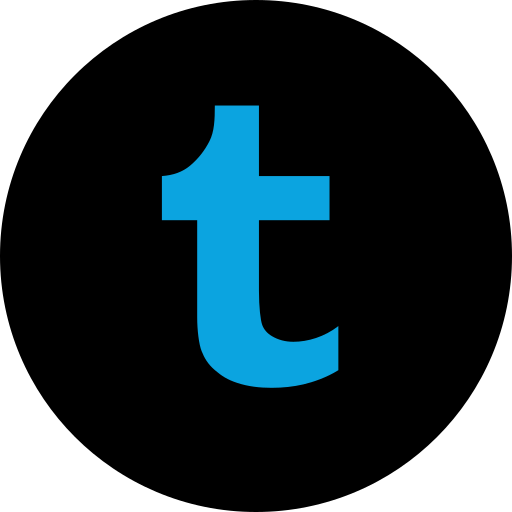 media, online, social, tmblr icon