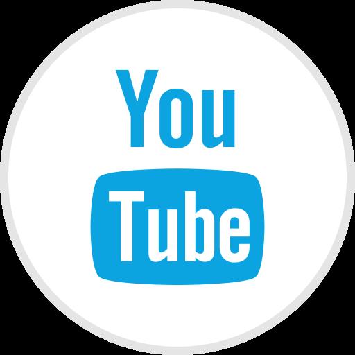 media, online, social, youtube icon
