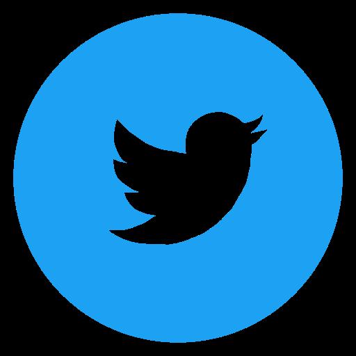 circled, media, network, social, social media, twitter, twitter bird icon