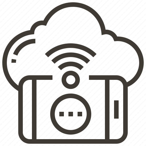 cloud, communication, media, message, network, social, technology icon