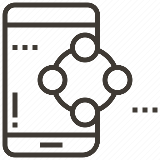 communication, media, message, phone, smartphone, social, technology icon