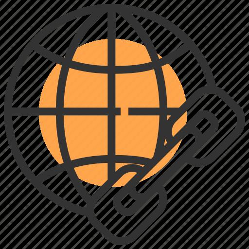 communication, global, link, media, network, social, technology icon