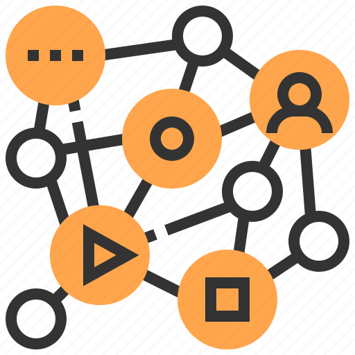 cloud, communication, connection, media, network, social, technology icon