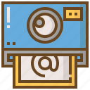 camera, communication, interaction, media, photo, social, technology icon