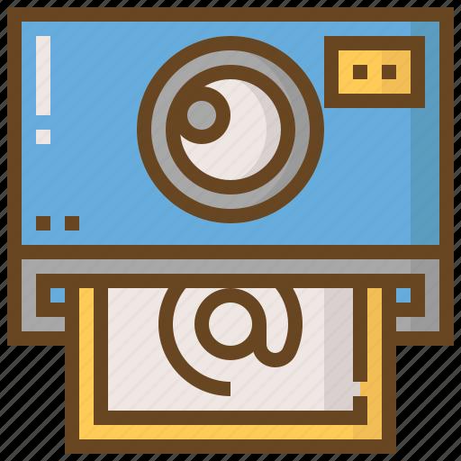 camera, communication, interaction, media, photo, social, technology icon