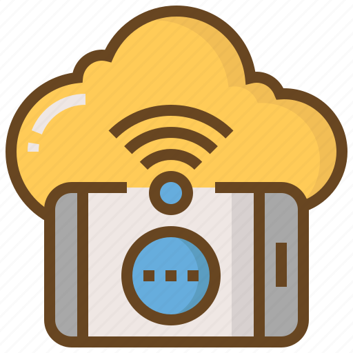 cloud, communication, media, network, smartphone, social, technology icon