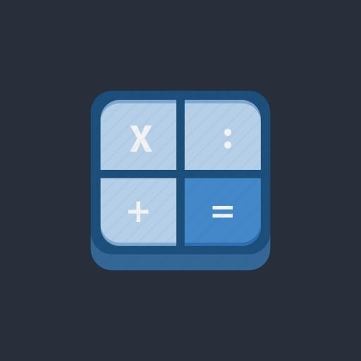 accounting, calculation, calculator, finance, math, socialmedia1 icon
