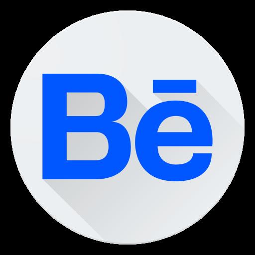 behance, communication, logo, media, social icon