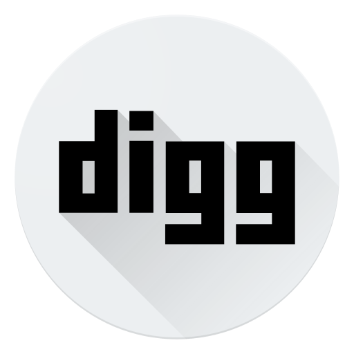 communication, digg, logo, media, social icon