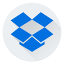 cloud, dropbox, internet, logo, online, web icon
