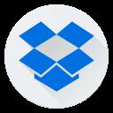 cloud, dropbox, internet, logo, online, web icon