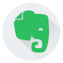 communication, evernote, logo, media, network, social icon