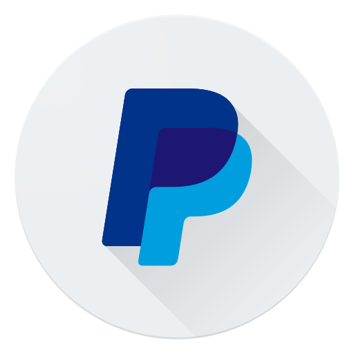 business, logo, money, payment, paypal, shopping icon