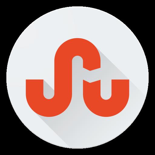 communication, logo, media, share, social, stumbleupon icon