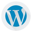 cms, design, logo, wordpress icon