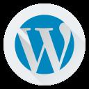 cms, design, logo, wordpress icon