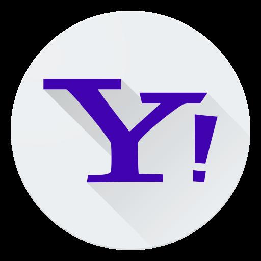 communication, logo, media, network, social, yahoo icon