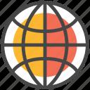 globe, network, web, worldwide, www icon