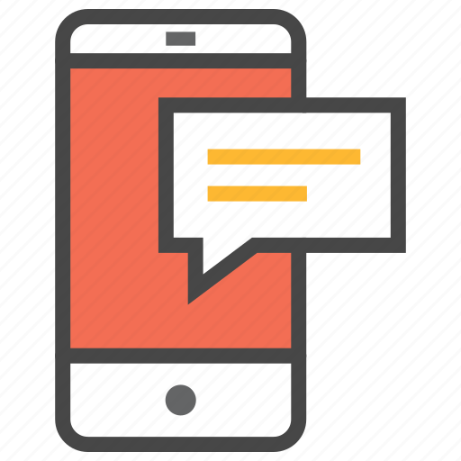 chat, mobile, mobile chat, smartphone icon