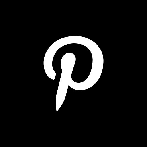media, pinterest, social, website icon