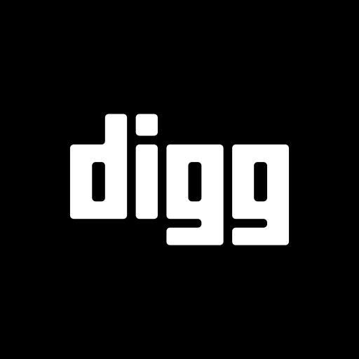 digg, media, social, website icon