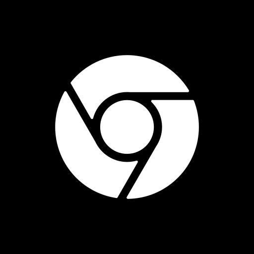 chrome, media, social, website icon