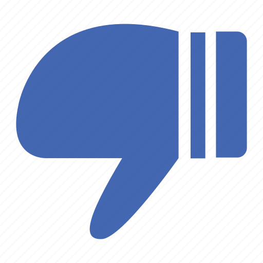 dislike, facebook, instagram, internet, network, social, twitter icon