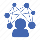 internet, network, social