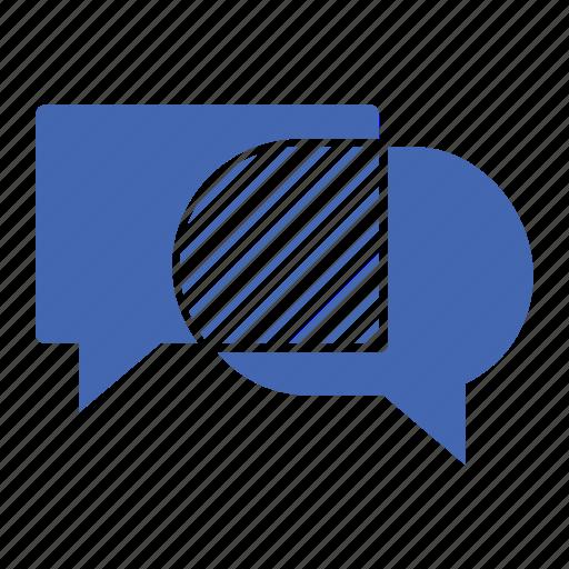 conversation, facebook, instagram, internet, network, social, twitter icon