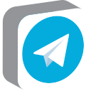 media, network, social, telegram icon