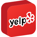 media, network, social, yelp icon