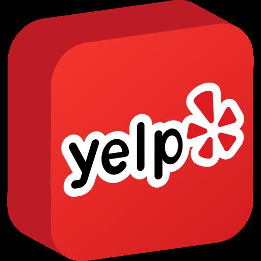 media, network, social, yelp icon