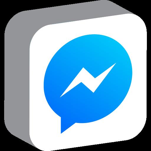 communication, media, messenger, network, social icon