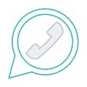 calls, messaging, social, video call, whatsapp icon