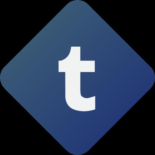media, social media, tumblr icon