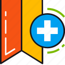 add, bookmark, favorite, like, new, plus icon