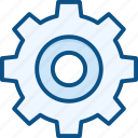configure, control, desktop, gear, gears, options, preferences, settings, system, tools icon icon
