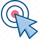 arrow, click, direction, double, pointer icon icon