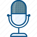 audio, device, mic, microphone, music, record, sound icon icon