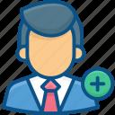 add admin, add user, admin, person, profile, user, users icon icon