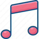 melody, music, sound icon icon