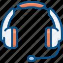 audio, headphone, instrument, multimedia, music, play, sound, volume icon