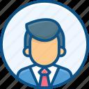 accountent, admin, avatar, female, male user, man icon, people, person, profile, user icon