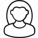 avatar, female, account, face, photo, profile, woman