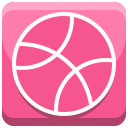 community, dribble, logo, social media icon