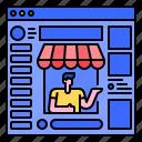 customer, ecommerce, marketplace, online, sales, shopping