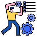 element, gear, service, setting, technical, web, website